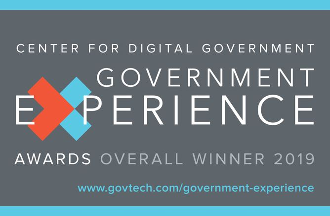 Government Experience Awards Overall Winner 2019